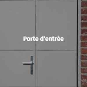 Accessoires - Porte d'entrée dans une porte de garage