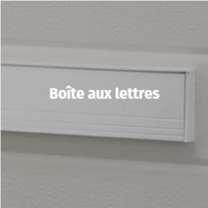 porte de garage - Accessoires - Boite aux lettres