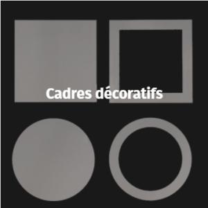 porte de garage - Accessoires - Cadres décoratifs